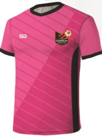 European SC Player Game Jersey Pink
