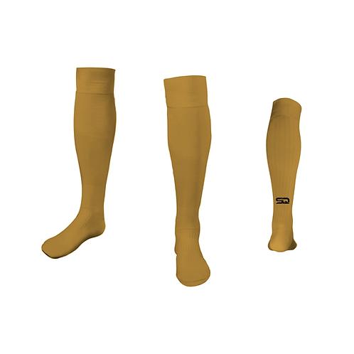 SQ Athletic Socks - D Vegas Gold (Pack of 6)