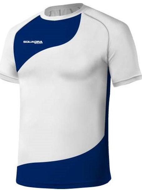 White / Royal Blue Jersey