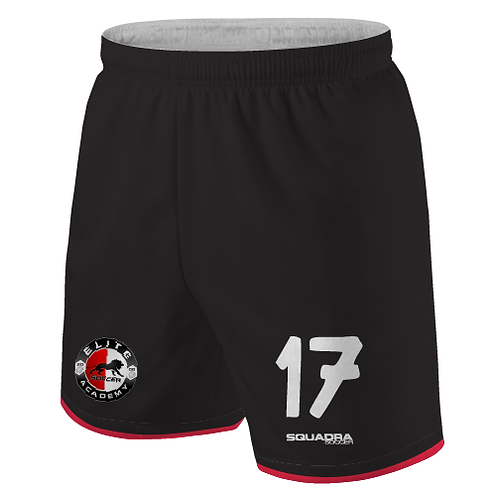 Elite SA Player Game Shorts Black (Away)