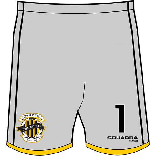 WPU GK Game Shorts (Home)