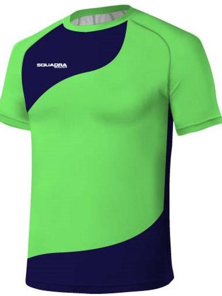 Neon Green / Royal Blue Jersey