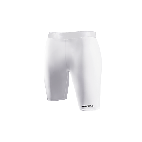 SQUADRA Compression Shorts White