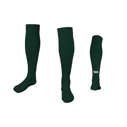 SQ Athletic Socks Forest Green (Pack of 6)