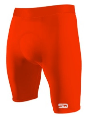 SQ Compression Shorts Orange