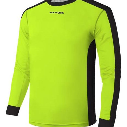 SQUADRA Goal Keeper Long Sleeve Padded Jersey (Click for more color options)