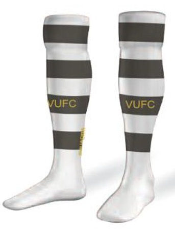 VARDAR Game Socks White-Grey