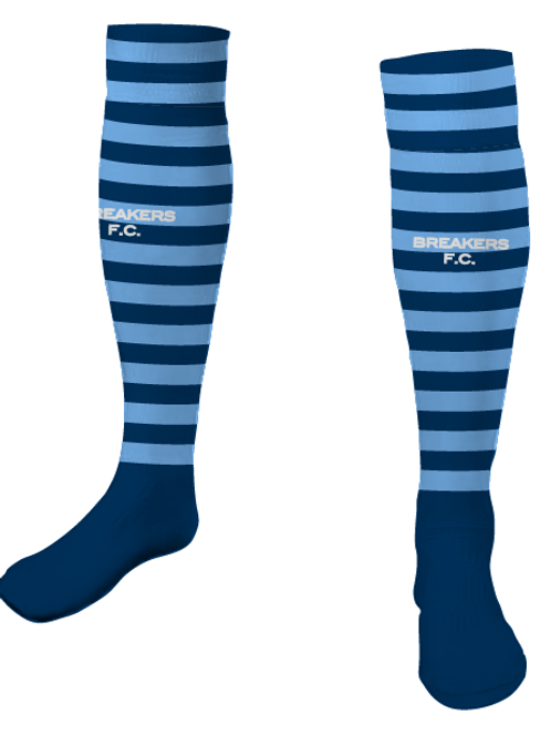 Breakers FC PLAYER Socks Navy