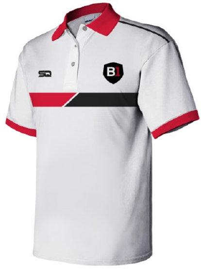 B1USA Polo White