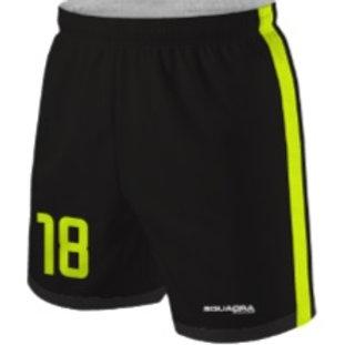 LEVANTE-UD Training Shorts Black-Yellow