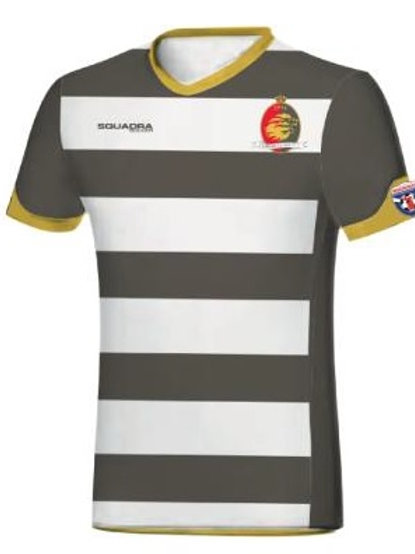 VARDAR Game Jersey White-Grey with Player Name