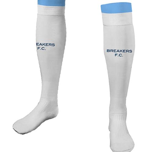 Breakers FC PLAYER Socks White