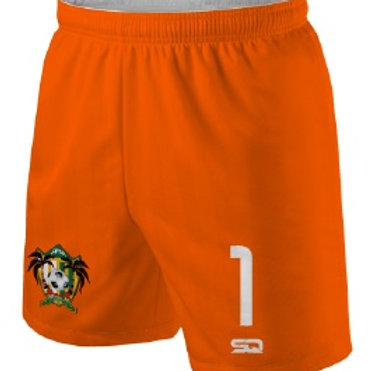 SPSA Goal Keeper Game Shorts Orange