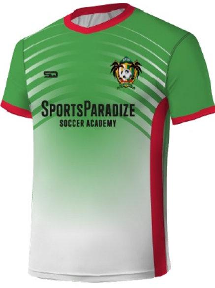 SPSA Player Game Jersey White-Green