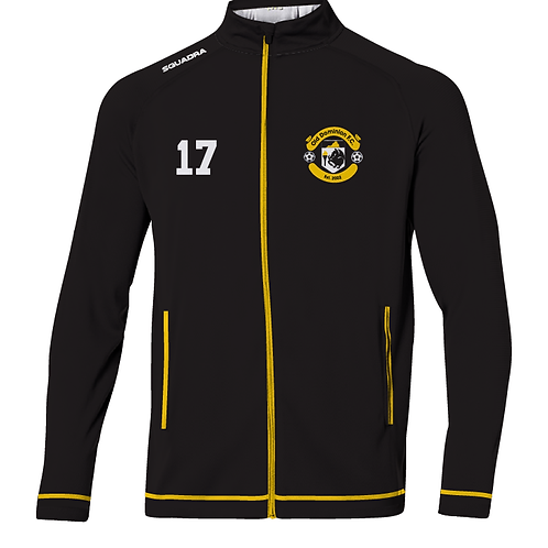 ODFC Track Jacket, Black/Gold