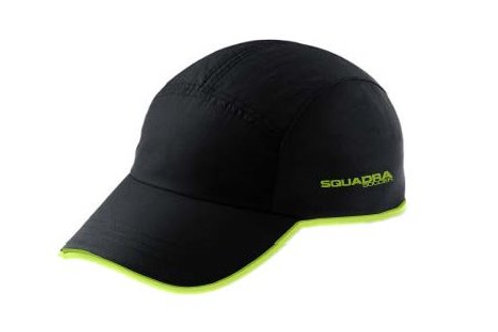 Black with Neon Yellow Brim Hat