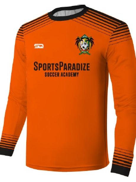 SPSA Goal Keeper LS Jersey Orange