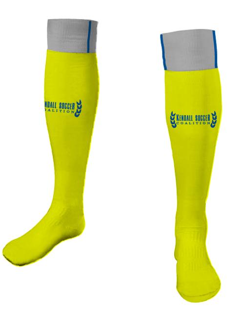 KSC GK Game Socks Gold (Home)