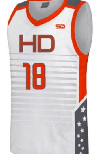 HD Game Jersey White