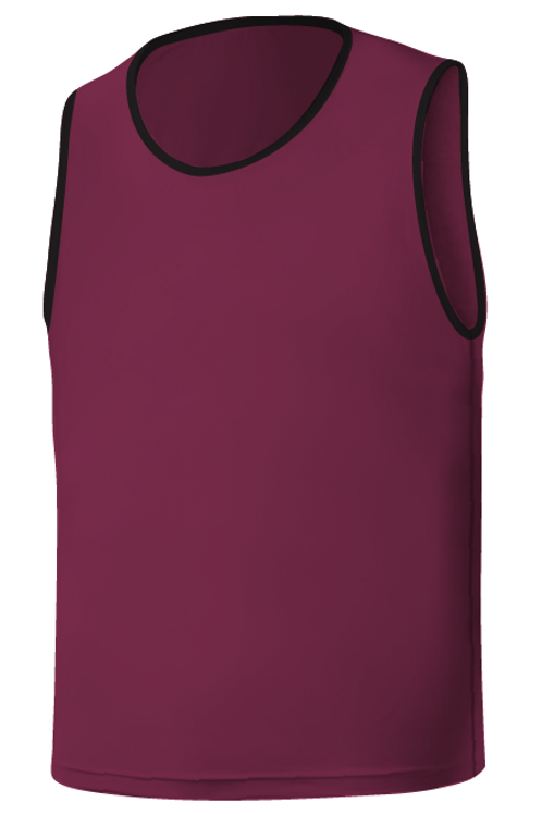 SQ Training Bib - Purple Blank