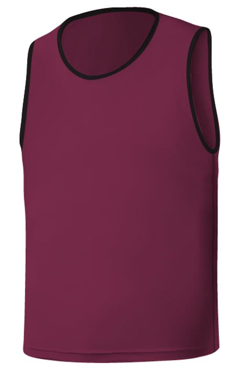 SQ Training Bib - Purple Blank