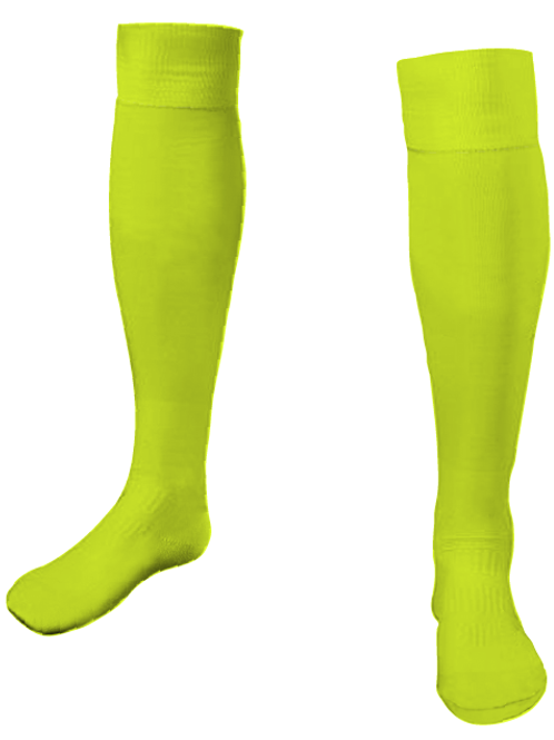 HEAT STRIKERS GK Game Socks Neon Yellow