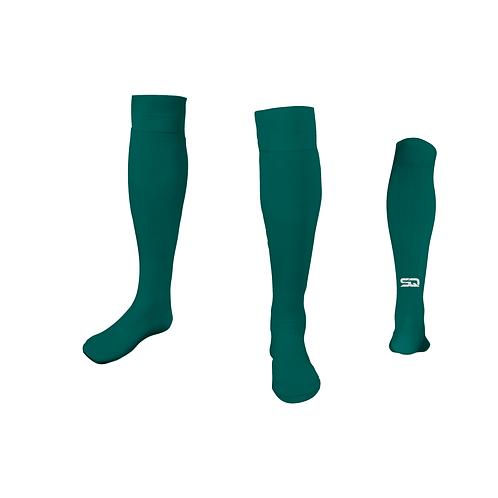 SQ Athletic Socks - 440 VJ Teal. (Pack of 6)