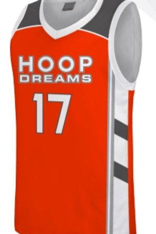 Hoop Dream Game Jersey Orange