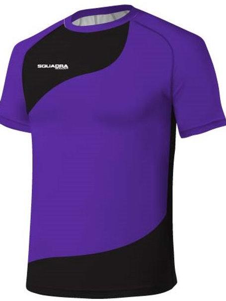 Purple / Black Jersey