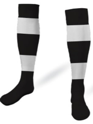 LEVANTE-UD Game Socks Black-White