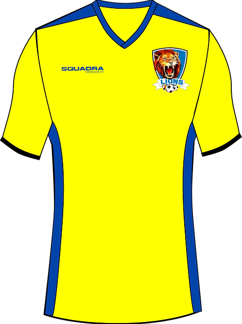 Naples Lions GK Game Jersey Yellow