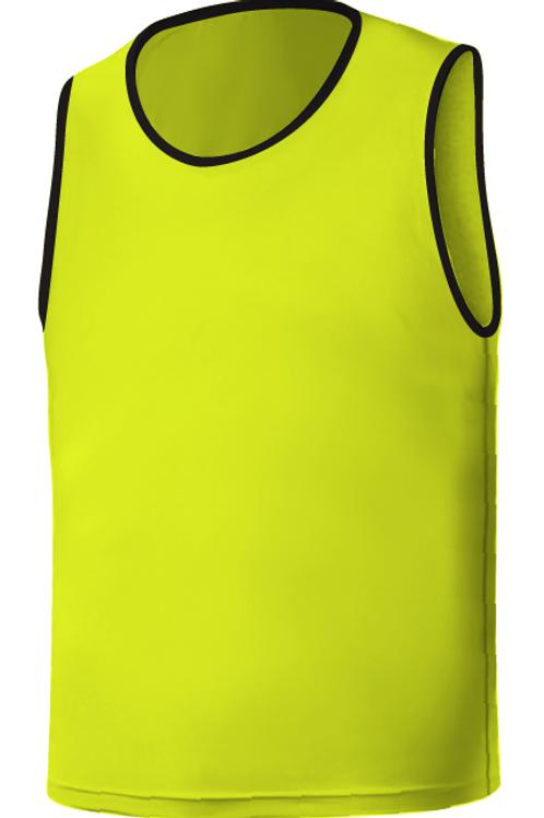 SQ Training Bib - Neon Yellow Blank