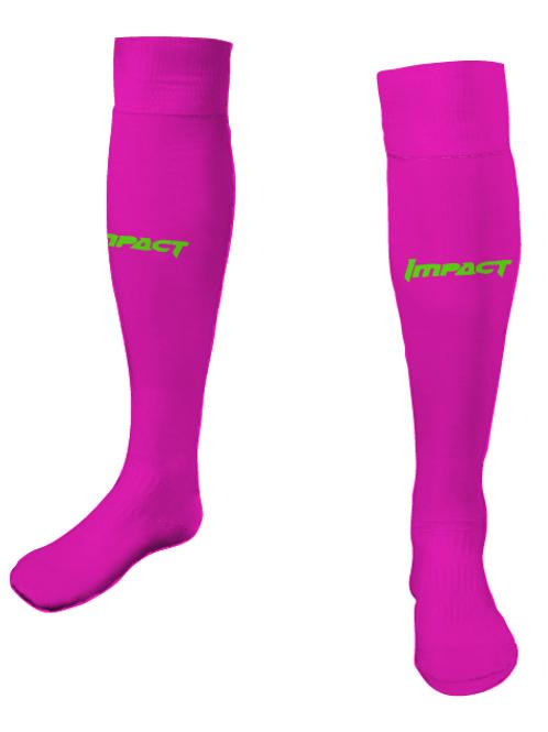Impact GK Game Socks Fuschia (Home)