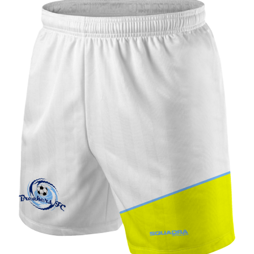 Breakers FC Player Shorts White