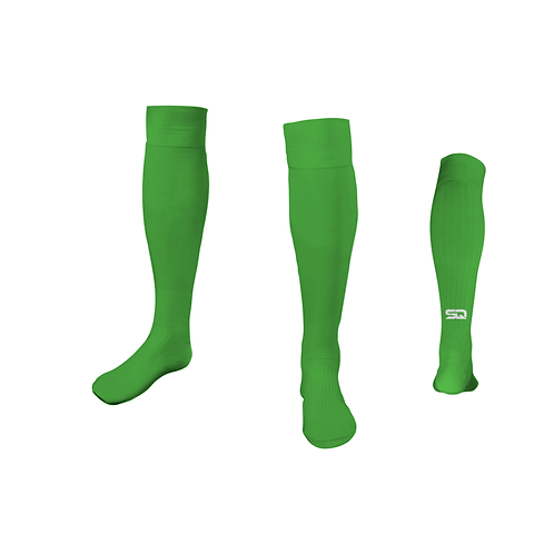 SQ Athletic Socks - VM Lime (Pack of 6)