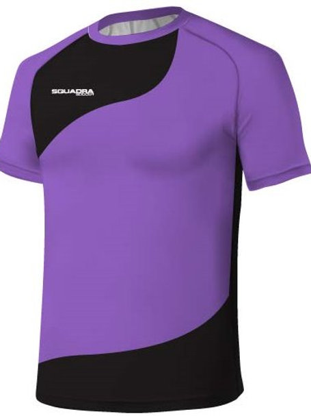 Lilac / Navy Jersey