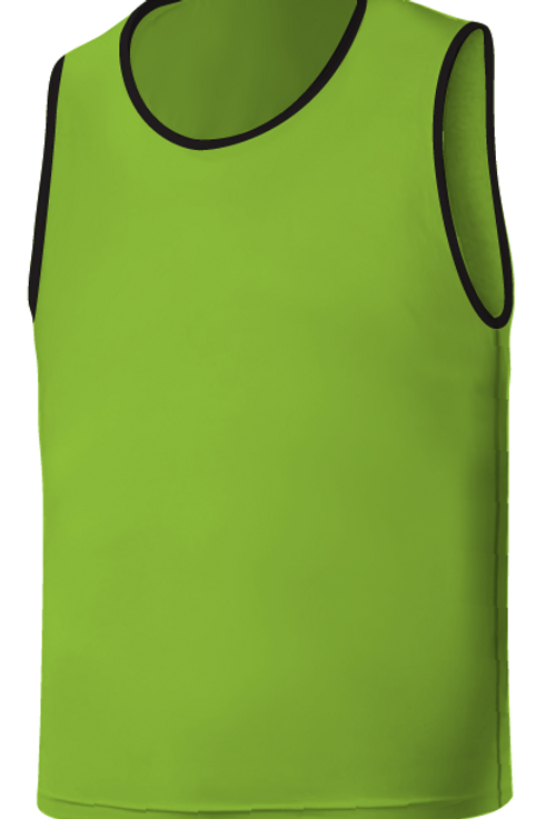 SQ Training Bib - Green Avacado Blank