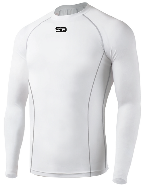 SQ Compression Jersey LS White