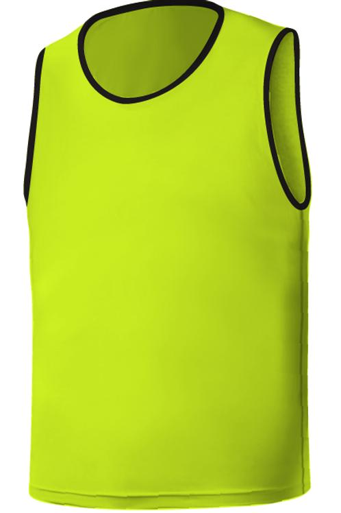 SQ Training Bib - Lime Blank