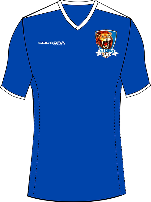 Naples Lions Player Game Jersey Blue