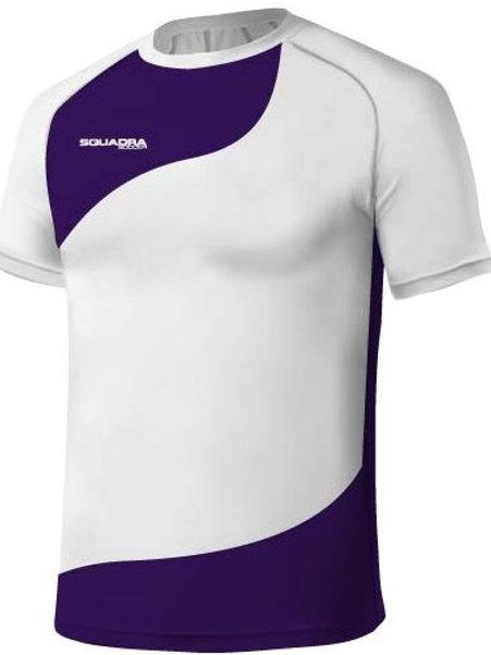 White / Purple Jersey