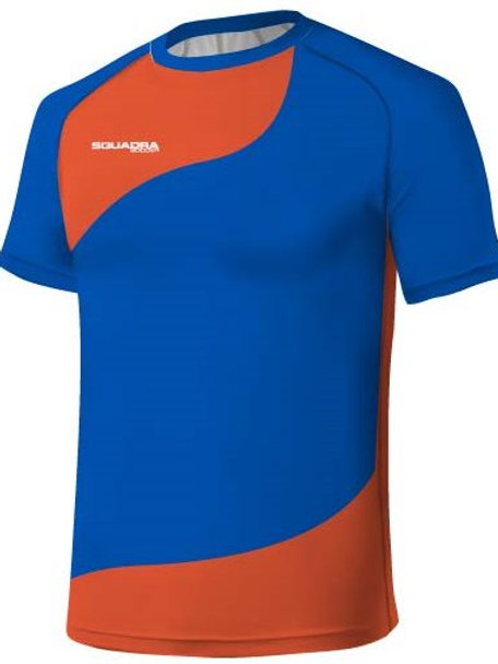 Sky Blue / Orange Jersey