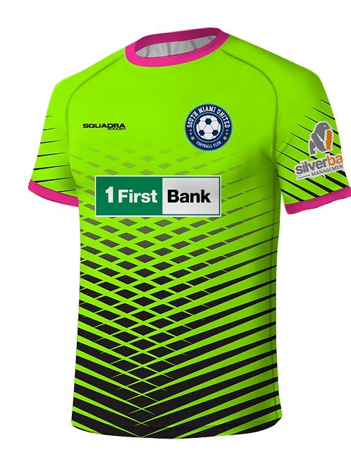 SMUFC 2017 Game Jersey Lime-Black