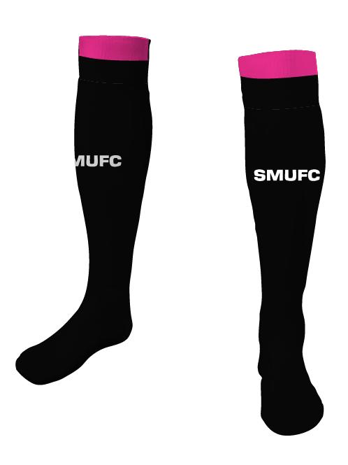 SMUFC 2016 Game Socks Black