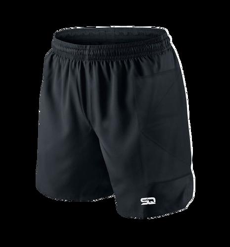 SQ Goal Keeper Black Shorts Padded