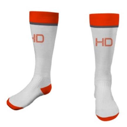HD Socks White