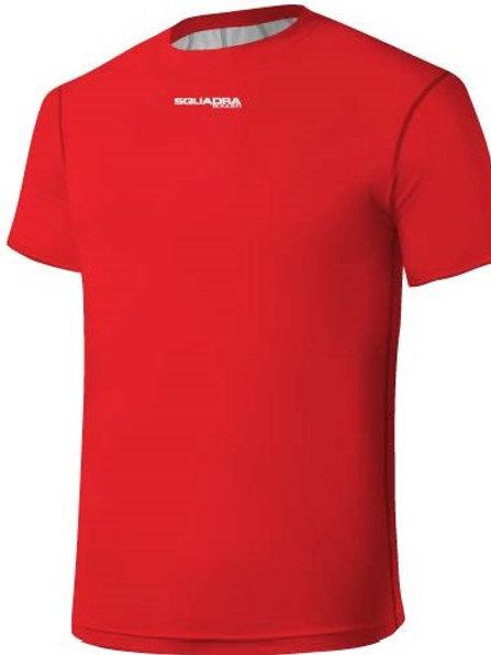 Red Squadra Training Jersey