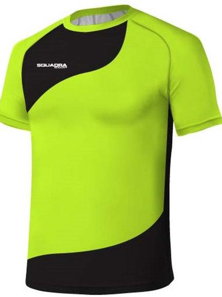 Highlighter Yellow / Black Jersey