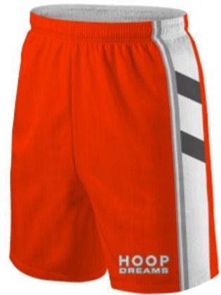 Hoop Dream Game Shorts Orange