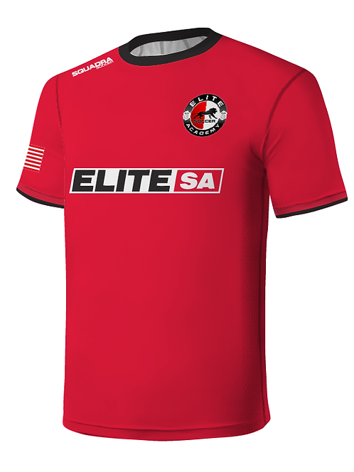 Elite SA Player Game Jersey Red (Away)